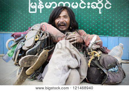Chin tribal man