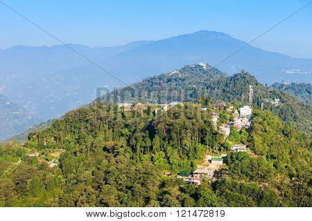 Pelling Aerial View