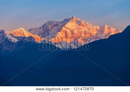 Kangchenjunga Mountain View