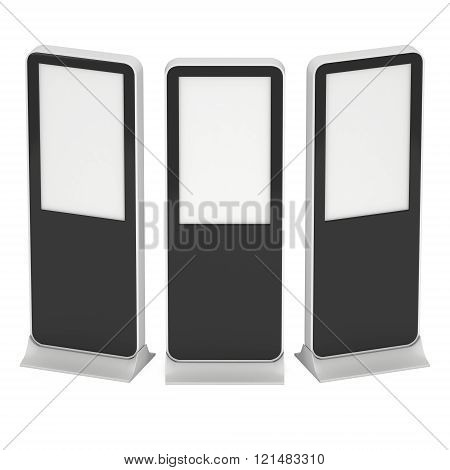 Trade Show Booth Lcd Kiosk Stand.