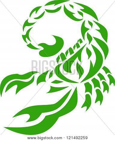 scorpion green