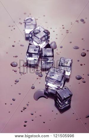Ice Cubes-melting