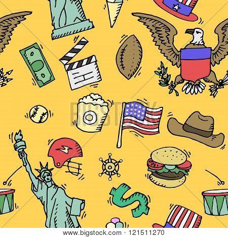 American Doodle set color pattern