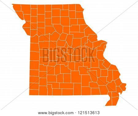 Map Of Missouri