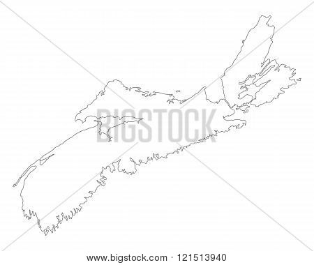 Map Of Nova Scotia