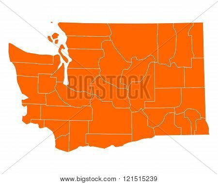 Map Of Washington