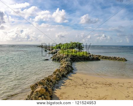 Guadeloupe Sainte Anne beach