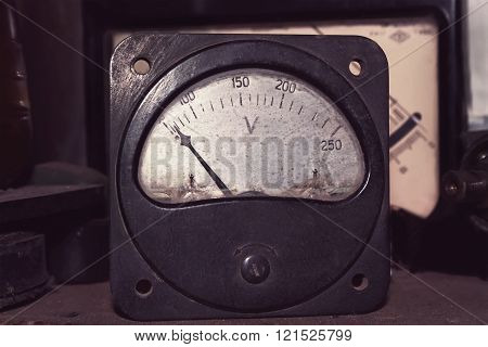 Old Big Voltmeter