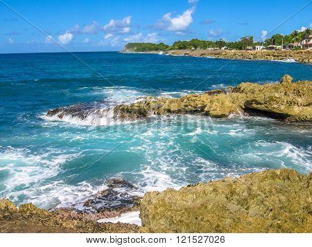 Guadeloupe north coast