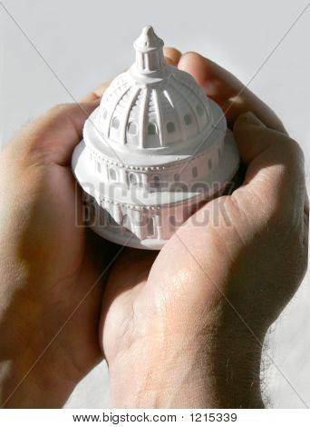 Capitol In Hands (Conceptual)