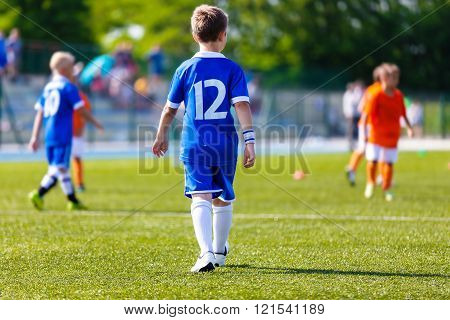 Boy Football Soccer Player