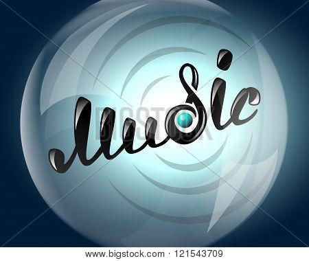 Music logo vibration