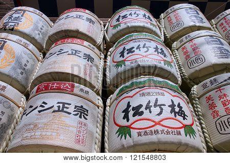 Nihonshu Barrels