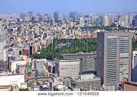 Tokyo Urban Sprawl