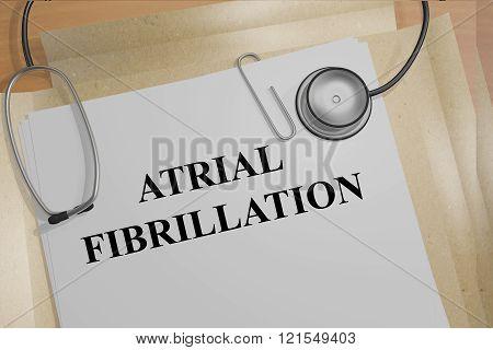 Atrial Fibrillation Concept