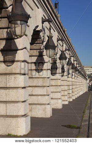 Bercy Bridge, Paris, Ile-de-france, France