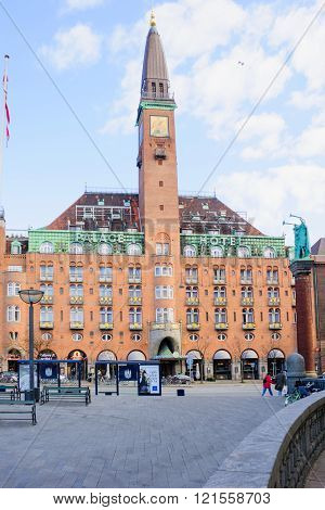 The Historic Palace Hotel Building,  Copenhagen