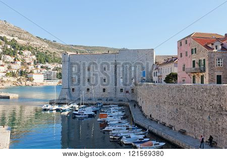 St John Fortress (14Th C.) Of Dubrovnik