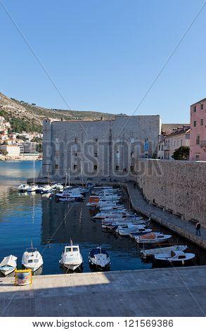 St John Fortress (14Th C.) Of Dubrovnik, Croatia. Unesco Site