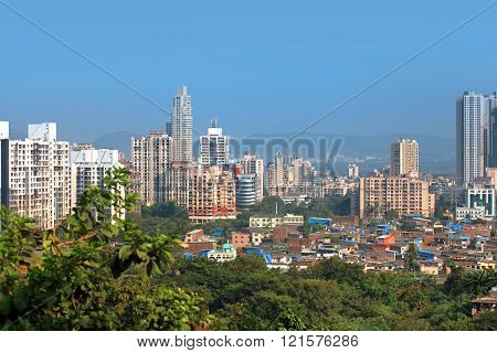 Mumbai, INDIA - December 4 : Mulund is a suburb of Mumbai one of earliest planned suburb on the outskirts of Mumbai city , on December 4,2015 Mumbai, India