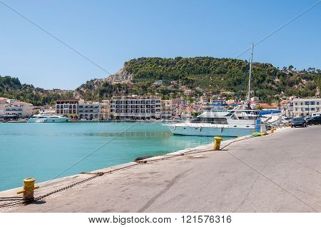 Port In Zakynthos City