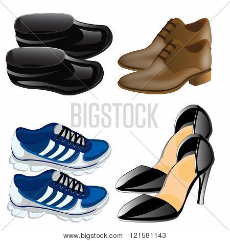 Much miscellaneouses footwear