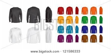 Long sleeve t-shirt big collection