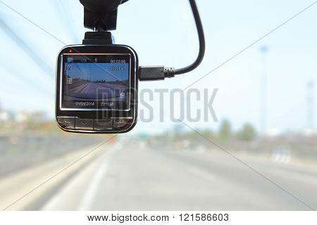 front camera car recorder