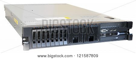 Rackmount Server Isolated