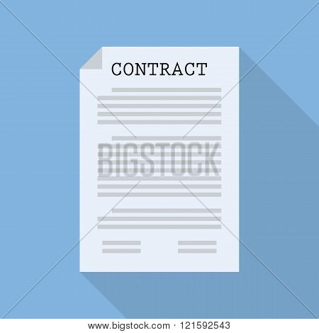 Contract Document Paper