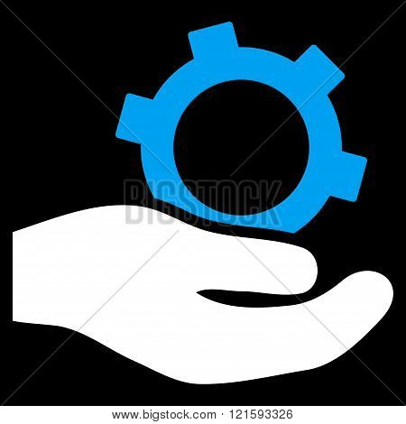 Engineering Service Flat Vector Symbol