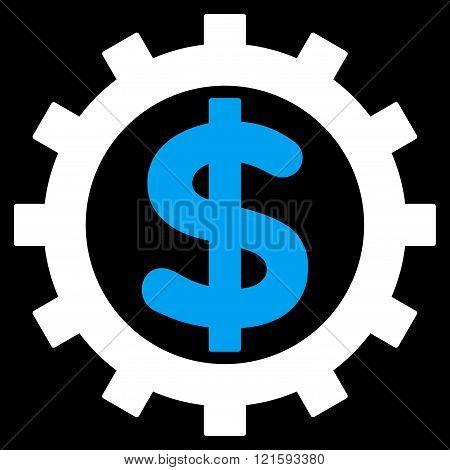 Financial Industry Flat Vector Symbol