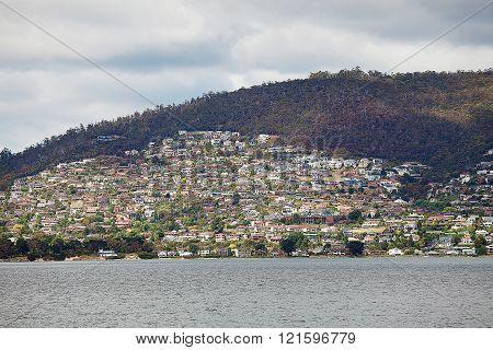 Suburban Hobart Tasmania