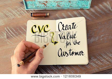 Acronym Cvc As Create Value For The Customer