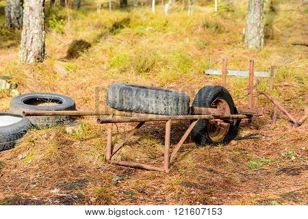 Tire Wagon