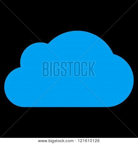 Cloud Flat Vector Symbol