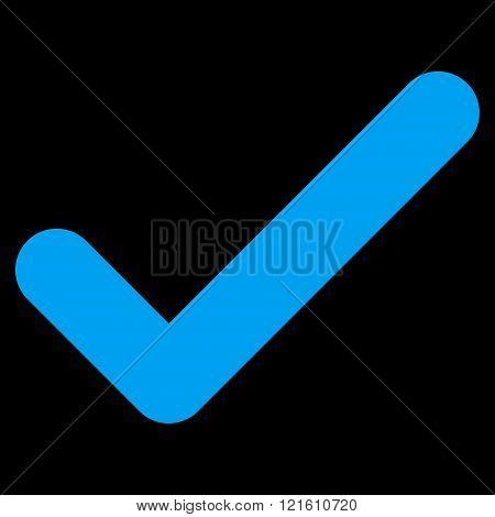 Ok Flat Vector Symbol