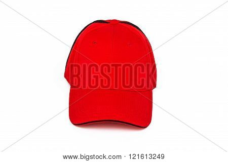 Red Golf Cap