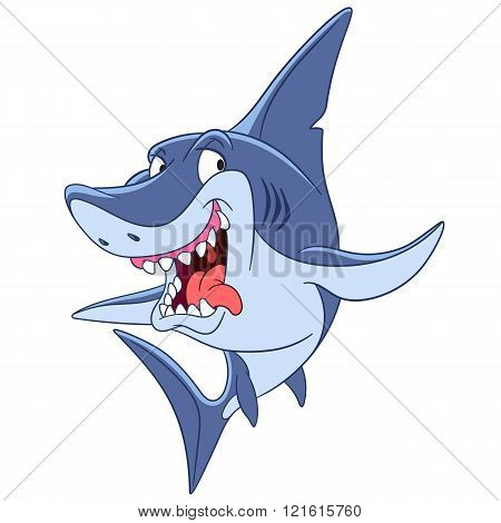 Dangerous Cartoon Shark