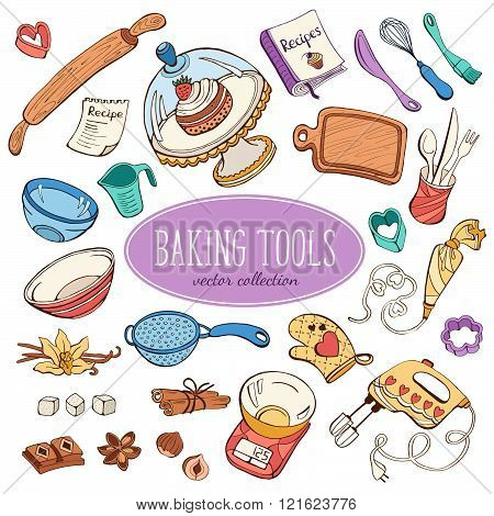 Baking objects collection