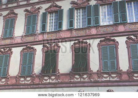 Nice Mediterranean House Facades With Different Colours