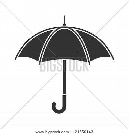 Umbrella Icon Vector, Rain Protection