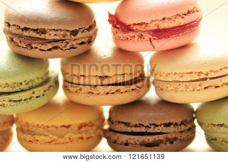 Macarons Close Up