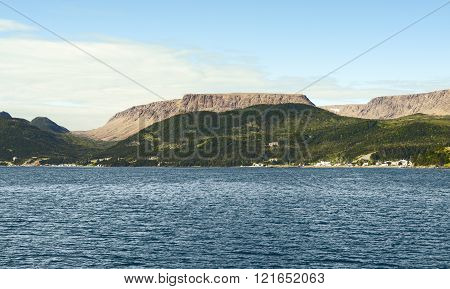 Bonne Bay, Gros Morne National Park, Newfoundland And Labrador, Canada