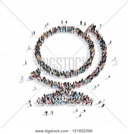 people  Globe Icon