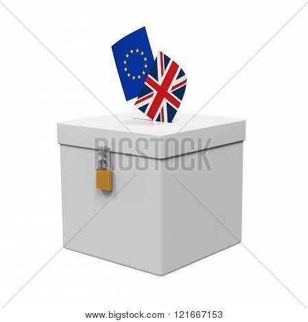 Brexit Referendum Illustration