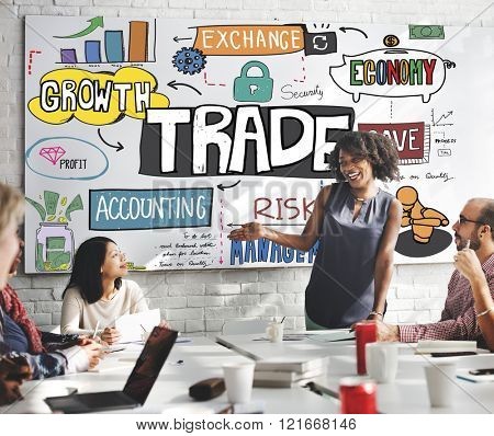 Trade Commerce Deal Economy Exchange Growth Concept