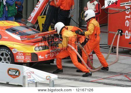 refueling, Japan Super GT 2006
