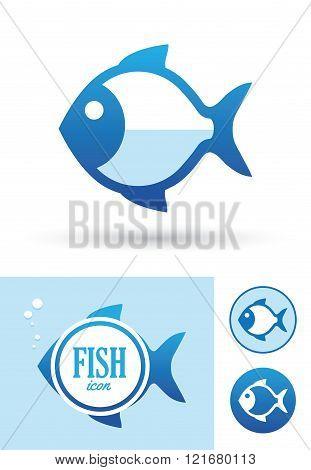 Round Fish Icon