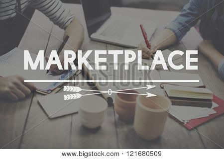Marketplace Product Sales Customer Concept